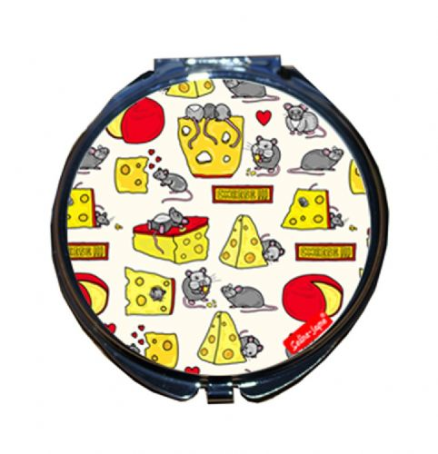 Selina-Jayne Mouse and Cheese Limited Edition Designer Compact Mirror